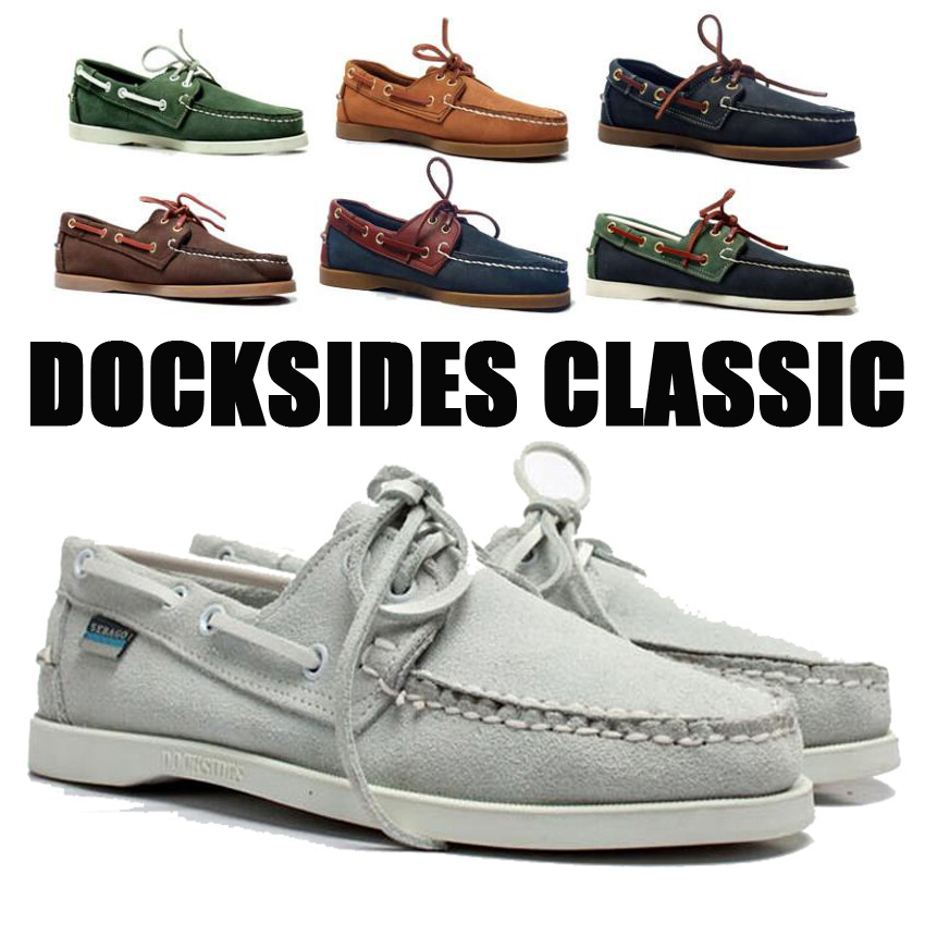 Men Genuine Suede Leather Driving Shoes,Docksides Classic Boat Shoe,Brand Design Flats Loafers For Men Women 2019A015
