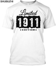 1911 106th Birthday 106 Years Old Popular Tagless Tee T-Shirt sbz4355(China)