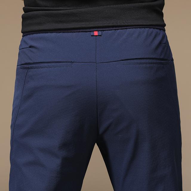 Men Wear Comfortable Anti-wrinkle Trousers