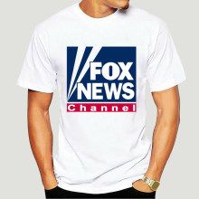 Fox News Republican T-Shirt Mens Tee Many Colors Gift New From Us 2019 Casual Slim Fit Brand Clothes Sports T Shirts 0344D