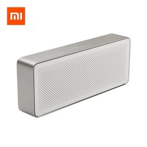 Image 1 - Xiaomi altavoz caja cuadrada 2 Original, altavoz estéreo portátil inalámbrico, Mini HiFi Bluetooth 4,0, altavoz de graves para exteriores