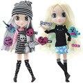 15 センチメートル/33 センチメートル Boby ガール Bjd 人形ドレスアップおもちゃ美しい髪ジョイント可動 3D 目王女おもちゃ子供の人形のおもちゃ