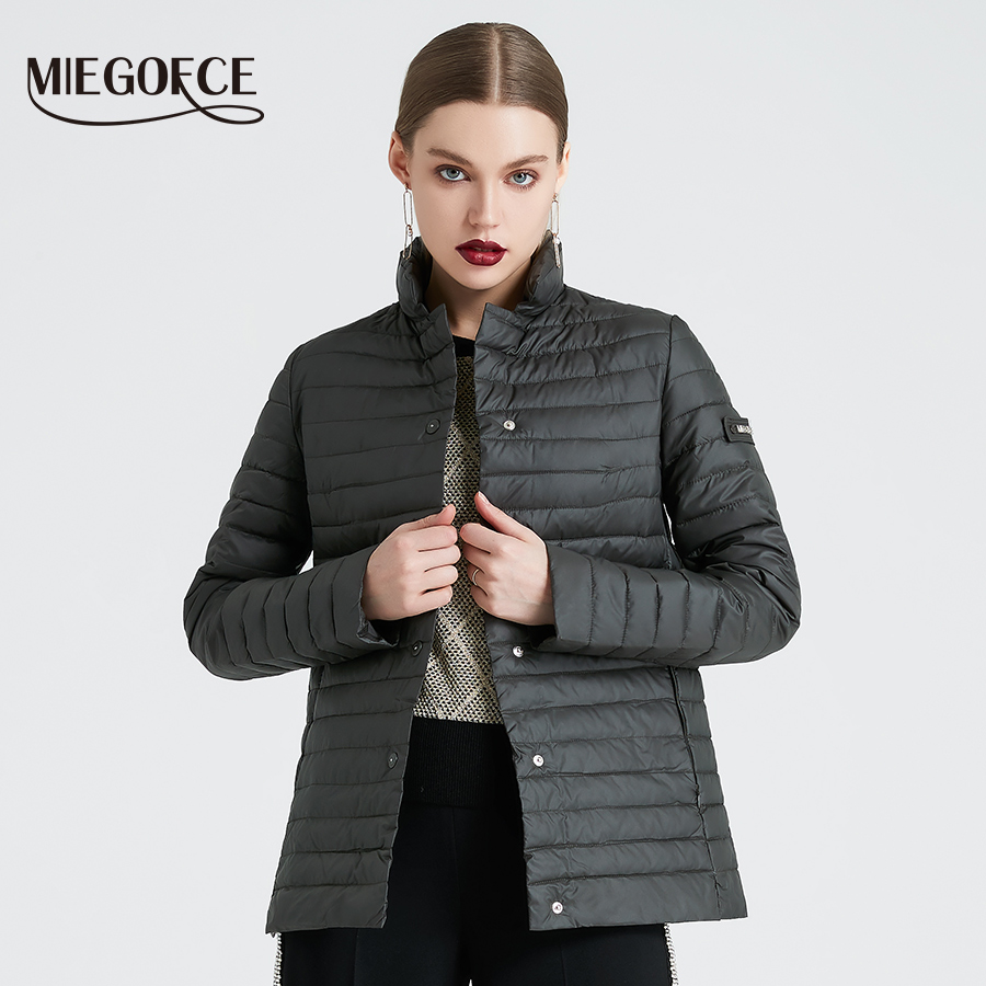 MIEGOFCE 2019 New Spring Collection of Jacket Stylish Windproof Women's Parka Coat Female Spring Jacket Coat Women Quilted Coat-in Jackets from Women's Clothing    1