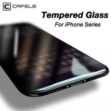 CAFELE Tempered Glass for iPhone 11 pro max x xs xr 8 7 6 6s plus 5 5s se Sreen Protector HD Clean Transparent Film