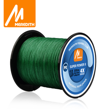 MEREDITH 4 Strands Braided PE Fishing Line 300M 500M 1000M 15-80LB Smooth Multifilament PE Fishing Line for Saltwater Fishing ghotda 8 strands 1000m 500m 300m pe braided fishing line tresse peche saltwater fishing weave superior extreme super strong
