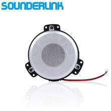1 PC Sounderlink 촉각 변환기 미니베이스 음악 쉐이커베이스 진동 스피커 홈 시어터 소파 자동차 좌석