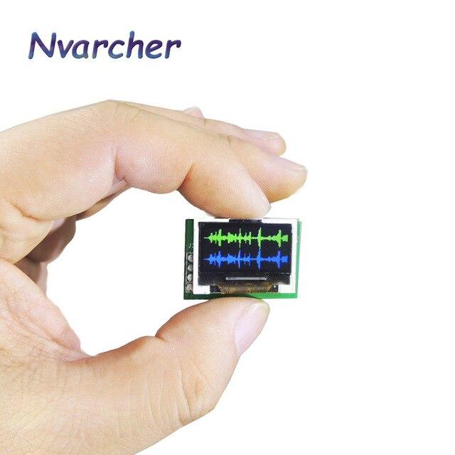 Mini 0.96 Inch IPS Màn Hình Màu Đa Chế Độ Phổ Màn Hình Máy Phân Tích LED Vũ Nhạc Cụ Ánh Sáng Cho Trưng Bày Tập DC5V