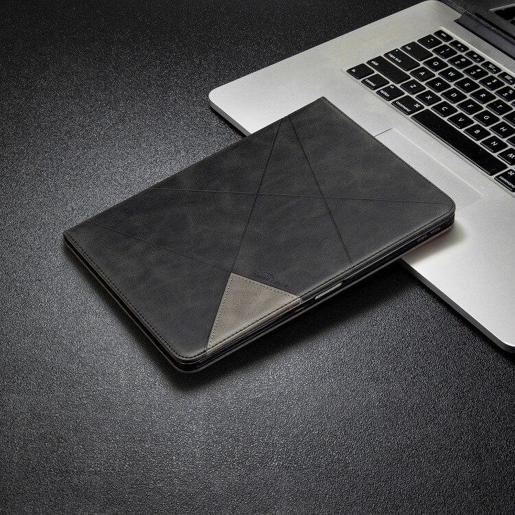 3 Blue New Card Wallet Flip Tablet Case for iPad Pro 11 2020 2th Gen Case Geometric Figure