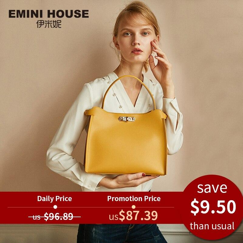 Handbag Crossbody-Bags Emini House Women Bags Casual Tote Designer for Split