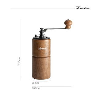 Image 4 - Moulin à café manuel AKIRAKOKI avec réglage réglable moulin à café conique broyeur à café pour goutteur à main française Mokapot