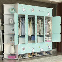 Шкаф имитирующий пластиковую ткань из цельного дерева, подвесной гардероб, арендная комната, маленький шкафчик для хранения домашнего хран...