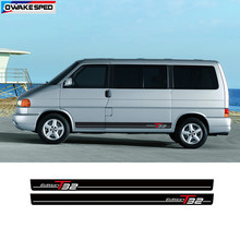 Per Vw Transporter Camper T5 T6 T4 Car Side Door Pannello Esterno Decalcomanie Adesivi T32 Edizione Sport Stripes