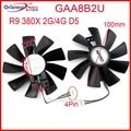 Вентилятор GAA8B2U - PFTA для видеокарты Sapphire R9 380X 380 2G 4G 5D