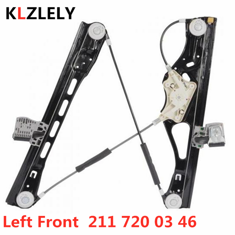 For Mercedes Benz W211 E 220 200 270 280 320 400 420 CDI E55 63 AMG Left Front Window Regulator 211 720 03 46