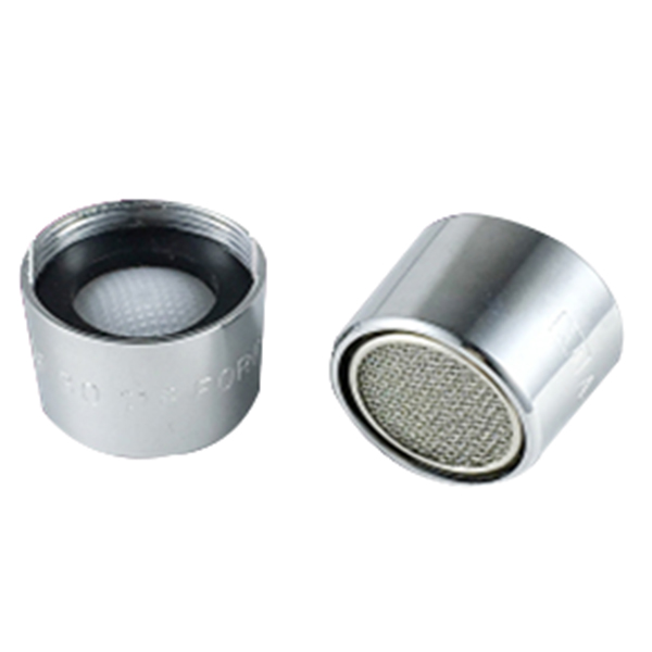 2x Water Saving Faucet Tap Spout Aerator Nozzle 19mm Female Thread Dia Silver