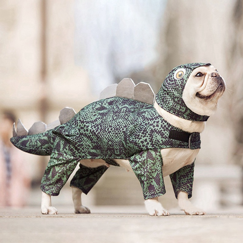 Creative Pet Dog Cat Clothes Halloween Dinosaur Cosplay Costumes For Puppy Cats Dog Transformed Outfit Pet Party Clothing Dog Coats & Jackets    - AliExpress