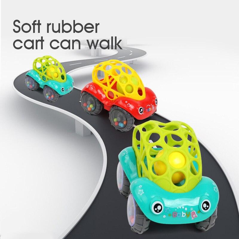 Bearoom Baby Rammelaars Mobiles Fuuny Baby Speelgoed Intelligentie Grijpen Tandvlees Zachte Bijtring Plastic Hand Bell hamer Educatief Gift 1