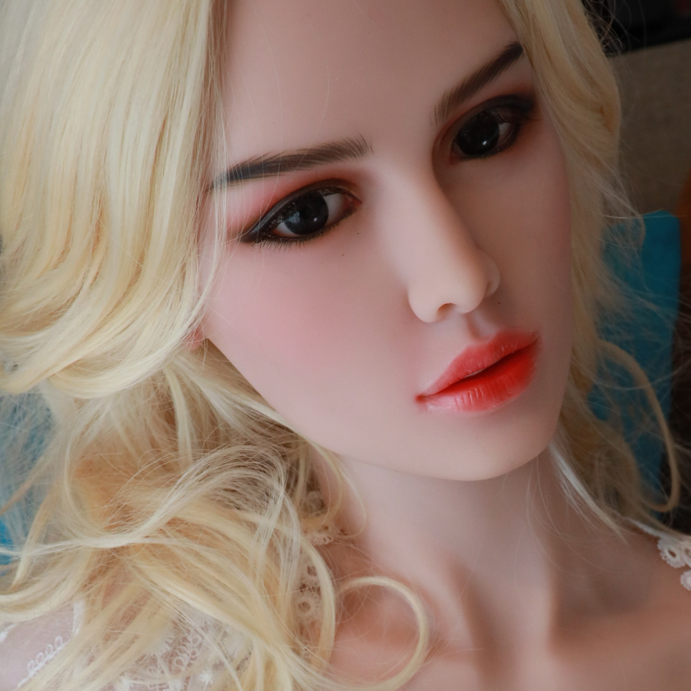 European Face Real Love Sex Doll Head For Silicone Sex Dolls Oral Love Doll Heads Fit For 140cm To 170cm Full Size Dolls