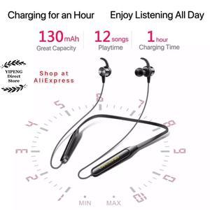 Image 5 - Ovleng S18 Draadloze Bluetooth Koptelefoon Sport Nekband Magnetische Oordopjes Microfoon Handsfree Stereo Bass Waterdichte Oortelefoon