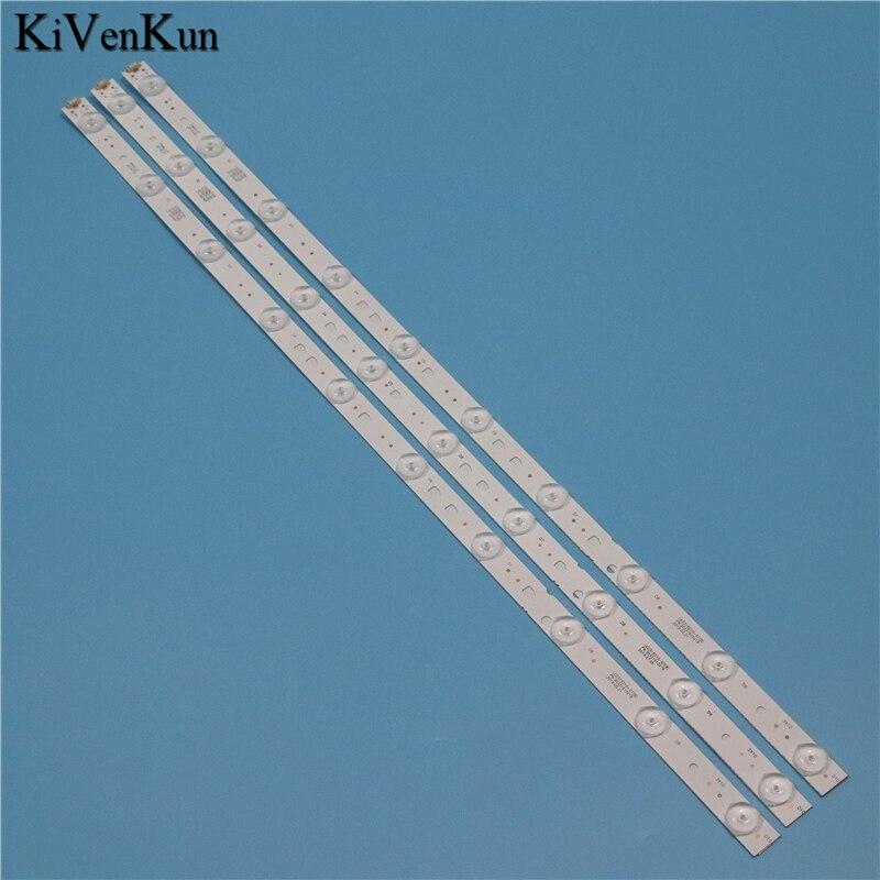 TV Lamps LED Backlight Strips For MYSTERY MTV-3229LTA2 Bars Kit LED Bands LED315D10-07(B) 30331510219 LED315D10-ZC14-07(A) Ruler