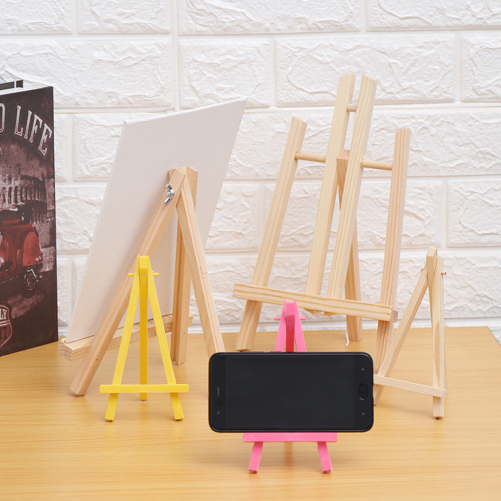 Prove Wood Easel Advertisement Exhibition Display Shelf Holder Studio Painting Stand