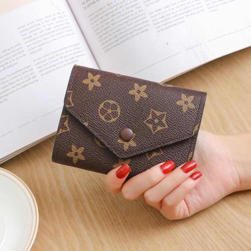 New Style Cute Men Women Multi-functional Fashion Zipper Wallet Card Bit More Snap Closure Purse Wallet Cute Wallet 2020