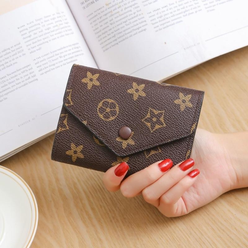 New Style Cute Men Women Multi-functional Fashion Zipper Wallet Card Bit More Snap Closure Purse Wallet Cute Wallet 2020