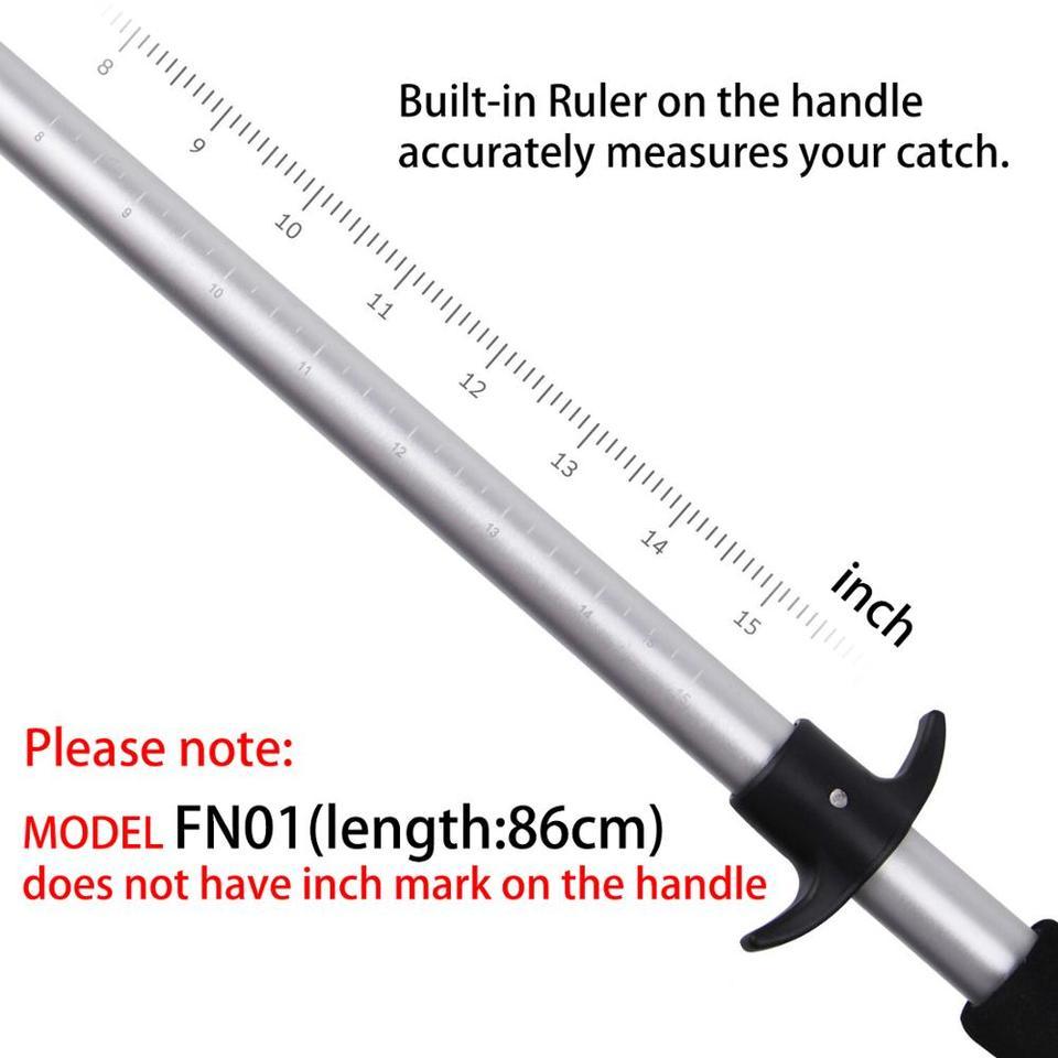 Fishing net Fisherman professional retractable telescopica Aluminum 150//170//210cm