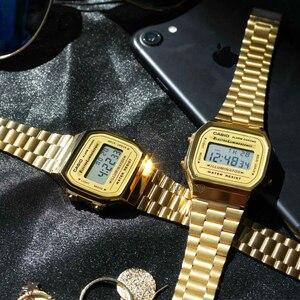 Image 5 - Casio watch gold watch men set brand luxury LED digital Waterproof Quartz men watch Sport military Wrist Watch relogio masculino