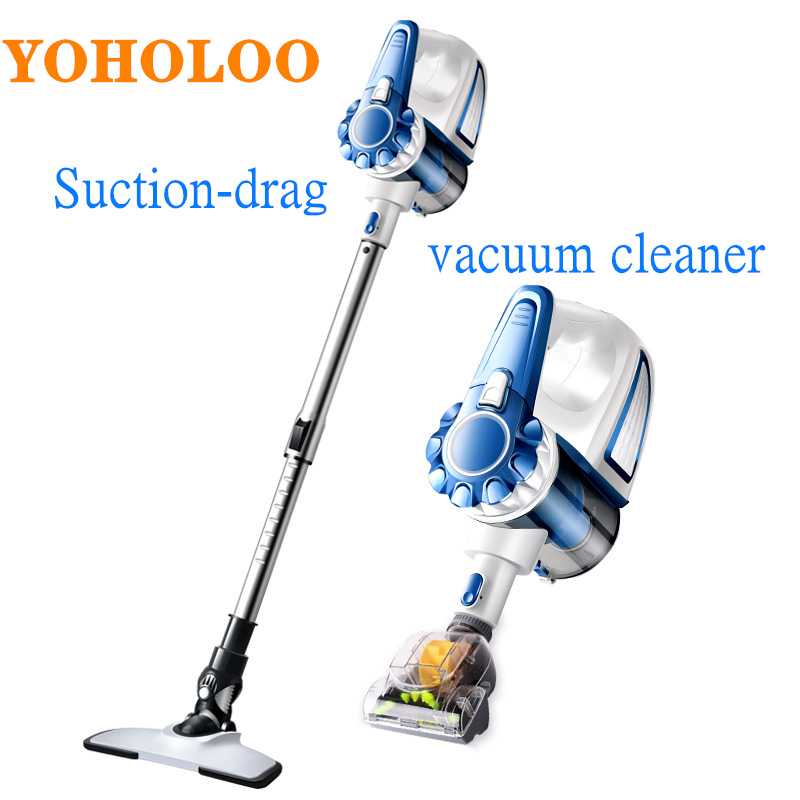Super Suction Wired Handheld Vacuum Cleaner Detachable Home Dust Collector Silent Multi-Function Car Vacuum Cleaner