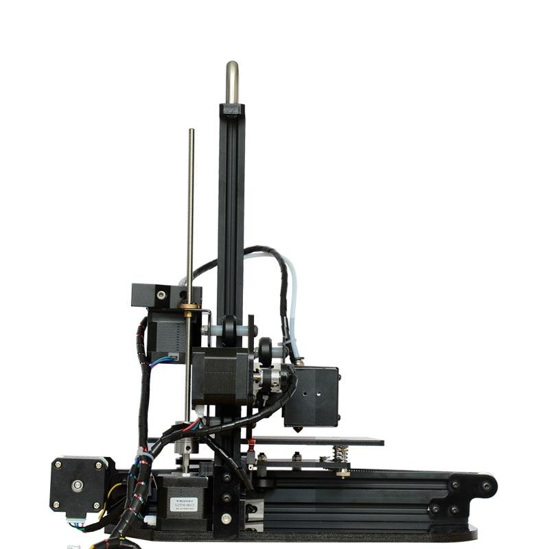 Tronxy  Mini DIY 3d printer High Precision desktop aluminium profile 3d Imprimante 150*150*150mm X1 3d Machine 2