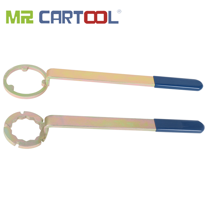 MR CARTOOL 2pcs Engine Timing Belt Removal Installation Tool For Subaru Forester Camshaft Pulley Wrench Holder Car Repair Tool