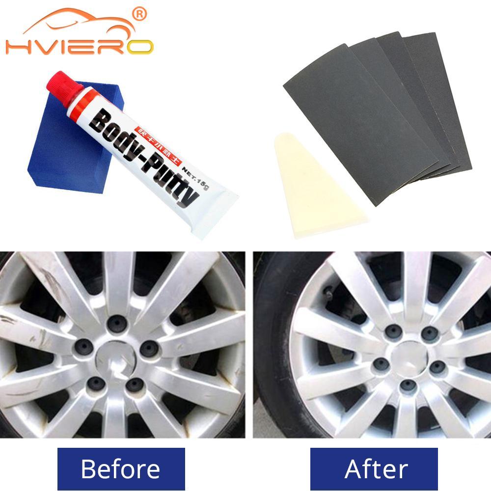Araba boyası yüzey derinlik çizik onarım cilt lastik sırtı boya araba bakımı onarım kaldır Scratch boya temizleyici cilası ıslak balmumu araçları