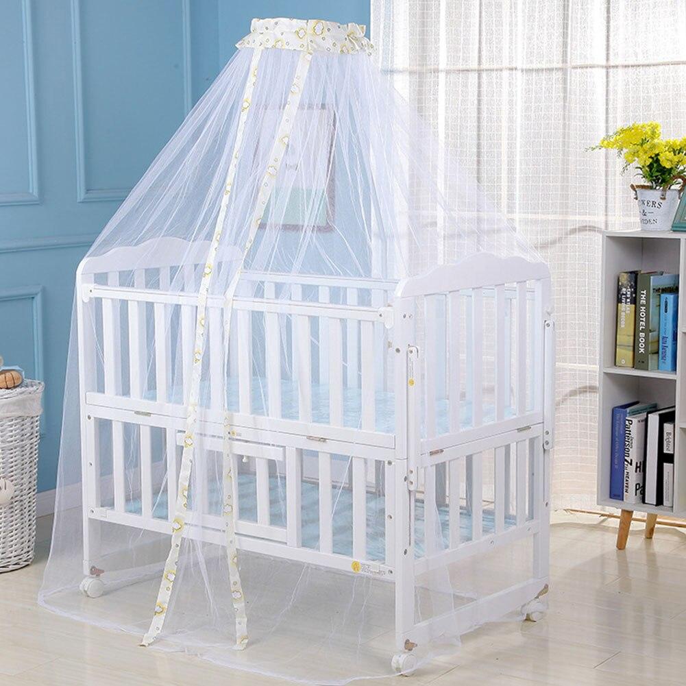 Mesh Baby Dome Draagbare Pasgeboren Fly Insect Bescherming Zomer Veilig Slaapkamer Baby Beddengoed Decoratie Klamboe Gordijn Kinderen