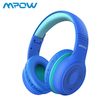 Buy Mpow CH6 Kids Headphones 85dB Hearing Protection Over Ear Kid Headset Foldable Adjustable Wired Headphone with Mic For PC/Laptop directly from merchant!