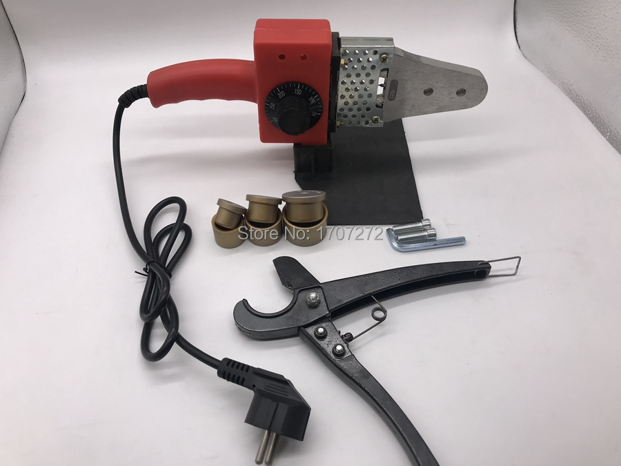 Free Shipping Temperature Controled PPR  Welding Machine, Plastic Welder AC 220V 600W 20-32mm  For Weld Plastic Pipes