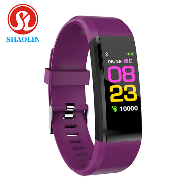 Smart Wristband Blood Pressure Watch Fitness Tracker Heart Rate Monitor Band Smart Activity Tracker Smart Watch for Apple watch