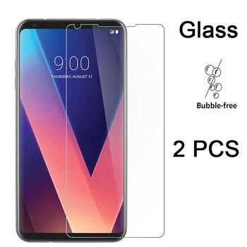 Перейти на Алиэкспресс и купить Защитное закаленное стекло для экрана LG X Power 2 Cam W30 Pro W10 Защитное стекло для LG V50 V40 ThinQ V30 Plus V20 V10