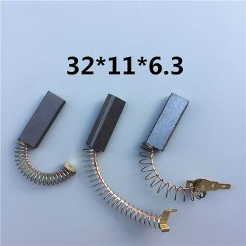 7 Sizes Universal Vacuum Cleaner Parts Vacuum Cleaner Motor Carbon Brush Replacement Accessories Wear Resistance