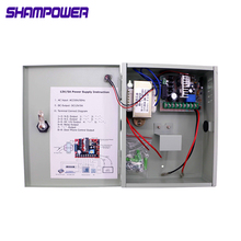 DC12V 3A 5A 10A 20A Access Control Power Supply Box 12V UPS support battery For All Kinds of Electric Door Lock With Time Delay dc12v 5a 3a optional power supply for door access control system