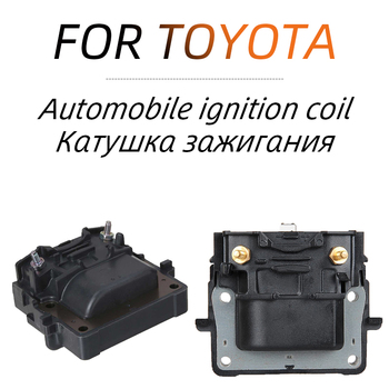 Ignition Coil 90919-02164 for Toyota Corolla Camry Chaser Hilux Land Cruiser Prado Vista N185 AT171 AE100 J90 ST191 Corsa image