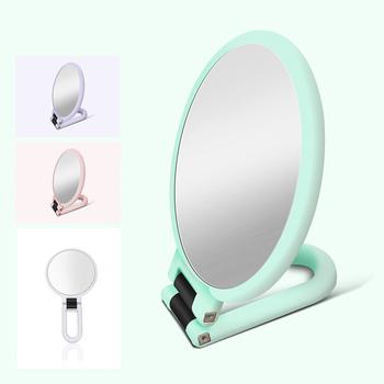2 5 10 15X powiększające lustro do makijażu ręczne lusterko przenośne składane makijaż lustro kosmetyczne dwustronne ręczne lustra narzędzia do makijażu tanie i dobre opinie Nie posiada CN (pochodzenie) compact mirror cosmetic mirror magnifying mirrors mirror makeup