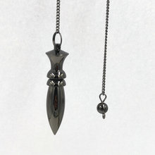 pendule de reiki pendulum Natural Stone Amulet Healing Pyramid spiritual pendulums for dowsing Copper meatl Charms Chakra Amule