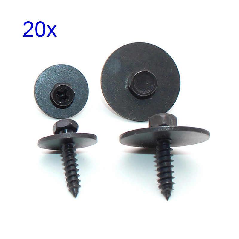 20X Hex Head Screw Fender Liner Air Duct Splash Shield Trim For BMW 07147129160