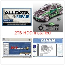 2020 alldata software 10.53v mit//chell od 5 data de reparação automóvel 7 software em 2tb oficina frete grátis