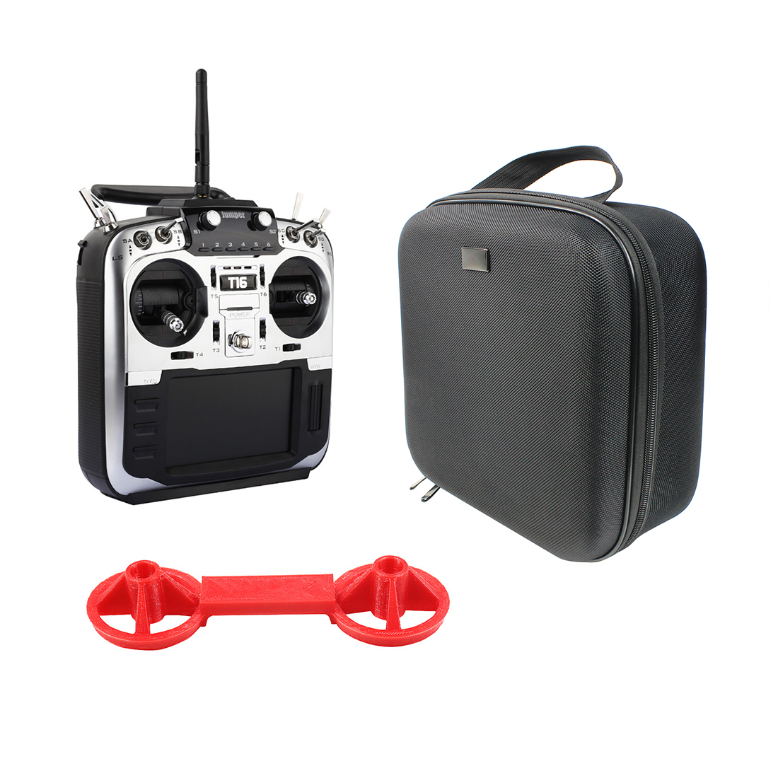 Jumper T16 Pro Hall Gimbal Open Source Multi-protocol Radio Transmitter JP4-in-1 RF Module 2.4G 16CH Remote Controller