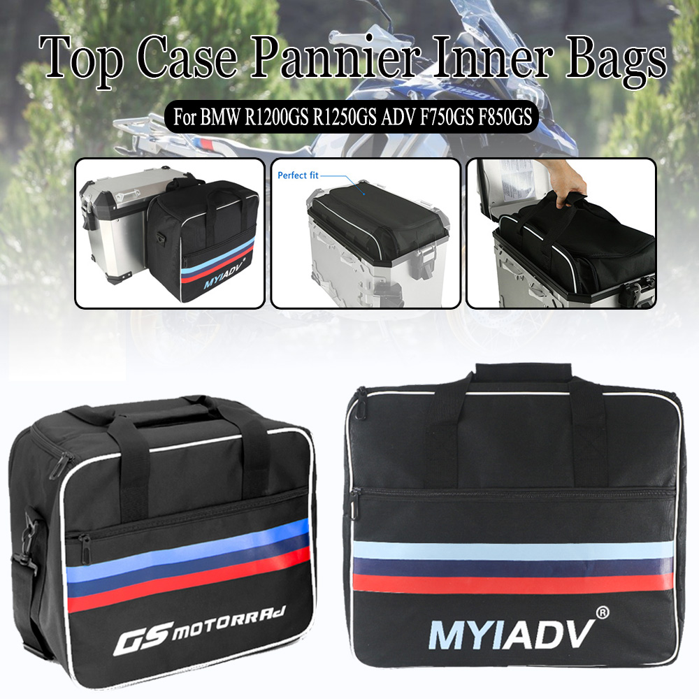 Expandable Top Case Pannier Inner Bags For BMW R1250GS R1200GS Adventure LC ADV F750GS F850GS Waterproof Motorcycle Luggage Bag