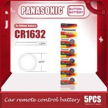 5 pièces/lot PANASONIC Original CR1632 pile bouton 3V Lithium Batteries CR 1632 pour montre jouets ordinateur calculatrice contrôle