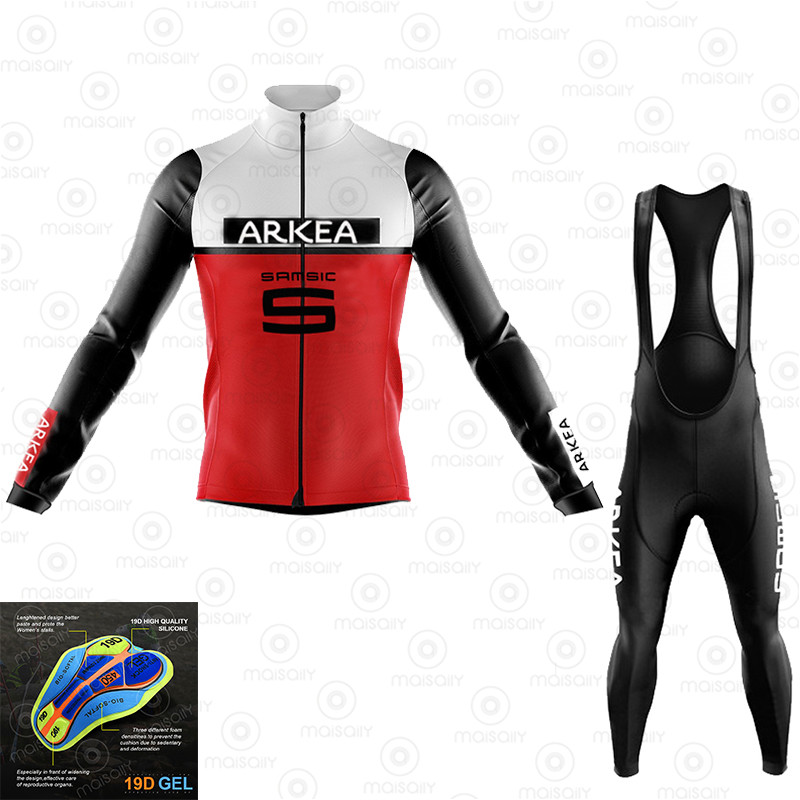 Cycling Jersey Set 2020 Pro Team ekoing Long Sleeve Spring Cycling Clothing Mtb Roupa Ciclismo Hombre Triathlon Cycling Set