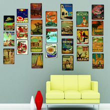 Florida Vintage Travel Tin Sign Metal Plate For Wall Pub Cafe Home Art Craft Decor Poster Cuadros DU2423B